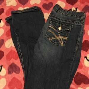 3 pairs of Rue21 jeans
